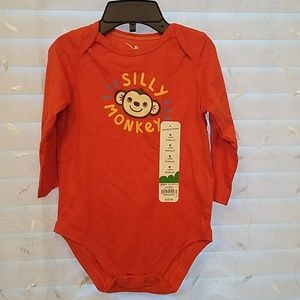 Jumping beans silly monkey bodysuit